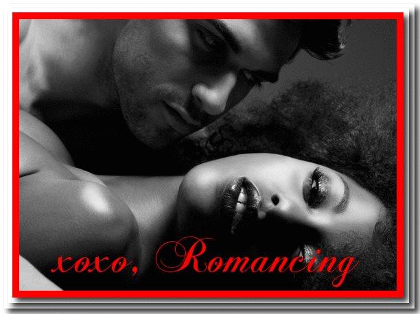 Romancing enchanting lady and man