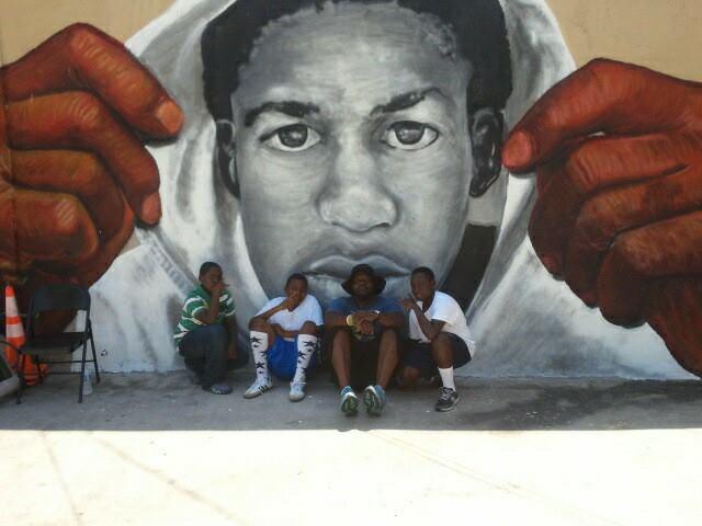 trayvon mural